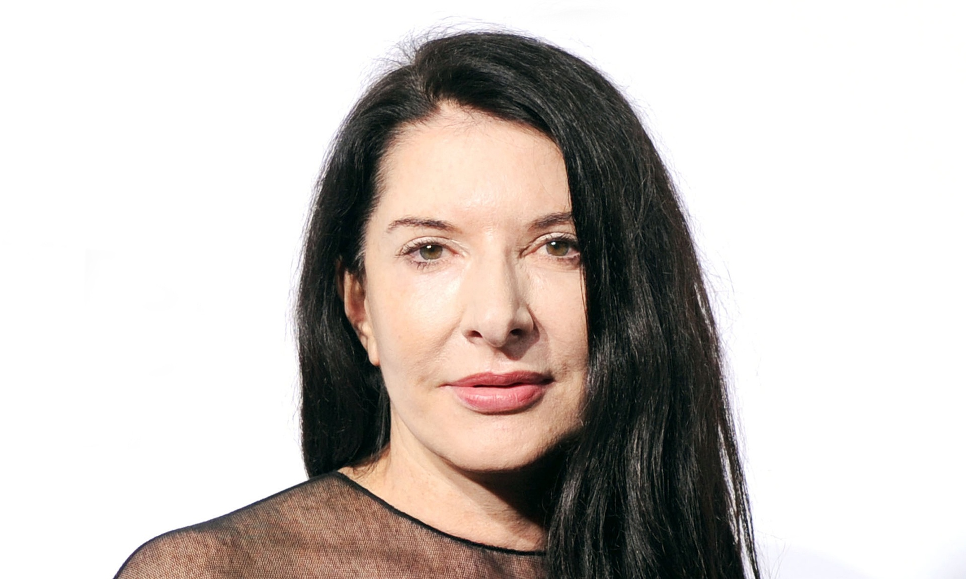 Marina Abramović Photo : Billy Farrell Agency/Rex Features